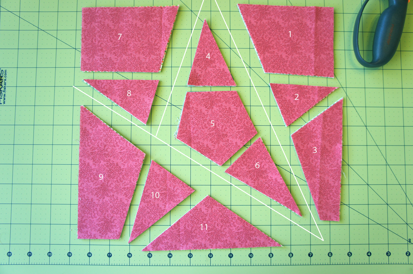 5 Point Star Quilt Patterns - Patterns Kid